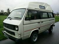 Vw camper t25 high top camper