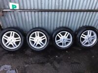 Ford focus wheels tires like new