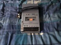 2 Cassette Tape Recorders For Sale