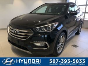 2017 Hyundai Santa Fe Sport 2.0T LIMITED - NAV, LEATHER, EXT. WA