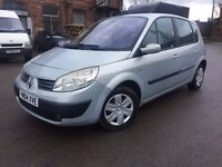 04 plate - Renault scenic -1.4 petrol - Warranted low 45K - one year mot -