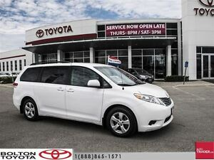 2014 Toyota Sienna LE 8 Pass V6 6A One Owner, Clean Car, ON Sale