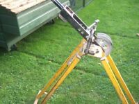 Reduced! CONDUBEND ELECTRICAL PIPE BENDER WITH PVI VICE