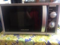 MORPHY RICHARDS MICROWAVE (GOOD CONDITION)