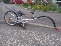 "Tag Along Bicycle, fits seat tube 16"" wheel"