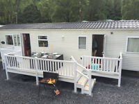 Spacious 3 Bedroom Luxury Caravan for hire at Tummel Valley Holiday Park, Tummel Bridge, Pitlochry