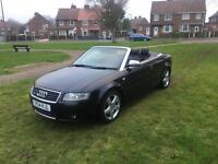 Audi A4 1.8turbo Convertable immaculate , leather. 130k loads mot