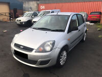 Ford Fiesta 1.4 TD Style Climate 5dr -2007, 2 Lady Owners, 12 Months MOT, Service History, £30 Tax