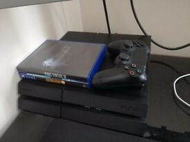 Playstation 4 500GB Black (boxed) - 2 games