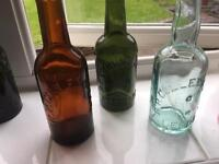 Old Beer Bottles / Wine Bottles Wanted - Idealy R P Culley / Culley