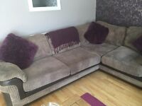 Corner suite and large swivel chair