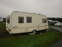 2004 4 birth avondale caravan with full size awning