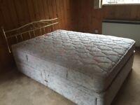 Double divan bed for sale