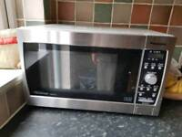 Silver Microwave Ovens (2 available)