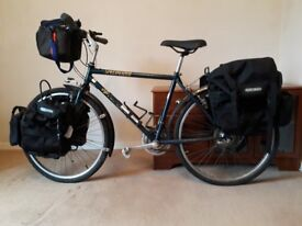 "Specialized Hardrock 18"" Mountain Bike with Panniers & Cycle Rack"