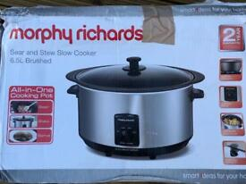 Morphy Richards slow cooker (New)