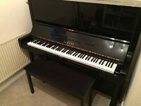 Yamaha U3 Upright Piano and Duet Stool in excellent condition