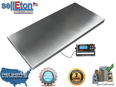 Heavy Duty 1000 X 0.2 Lb Veterinary Or Industrial Freight Scale Livestock Scale