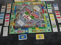 THE SIMPSONS MONOPOLY WITH 8 PEWTER COLLECTABLE TOKENS, FULL INSTRUCTIONS, GOOD CONDITION