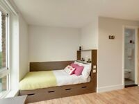 STUDENT ROOM TO RENT IN KINGSTON UPON THAMES. EN-SUITE WITH PRIVATE ROOM, BATHROOM AND STUDY SPACE