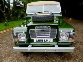 """Stunning Land Rover Series 3 Petrol Soft Top 88"""" For Sale (1983)"""
