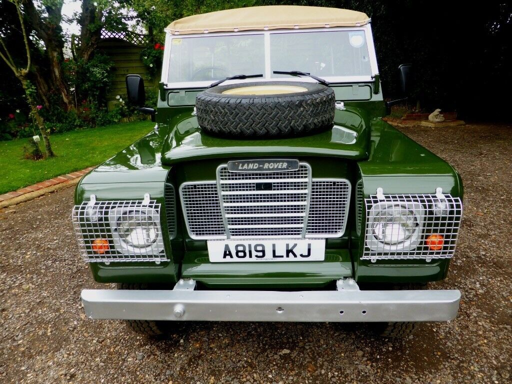 Stunning Land Rover Series 3 Petrol Soft Top For Sale (1983)