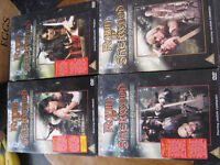 ROBIN OF SHERWOOD COMPLETE SERIES 1-3 dvd box sets