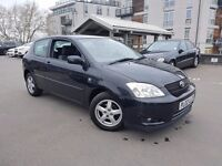2002 (02) TOYOTA COROLLA T3 1.6 VVTI - 3 DOOR - 5 SPD MANUAL - 12 MONTHS MOT - BARGAIN