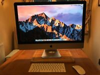 Apple imac 5k retina 27 inch . late 2015. perfect condition