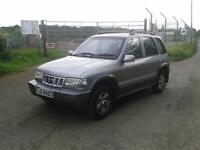 03 kia sportage 4x4 jeep mot april awd off road discovery land rover 4wd range rover audi ford bmw
