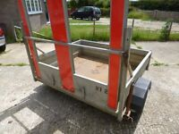 Bateson Plant Trailer, 650kg, HD Galvanised, Gardener, Quad Bikes, Bouncy Castle Slide, Marquee Etc