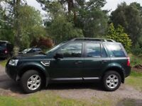 Landrover Freelander 2 GS TD4.e. 6 Speed Diesel. Roof bars/rails, Tow ball/electrics.