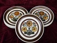 FOR SALE DENBY MAYFLOWER POTTERY DINNER WARE AND CROCKERY.