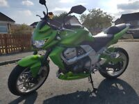 Kawasaki Z750 2007 * FSH * Low Miles * Candy Green