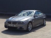 2012 BMW 5 SERIES 2.0 520d M Sport 4dr DIESEL SALOON ***FULL LEATHER,WIDESCREEN BUSINESS SAT NAV**
