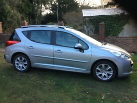 08 Peugeot 207 110 Sport SW. Reliable clean economic, 2 owners, full history, MOT end May 2018. VGC