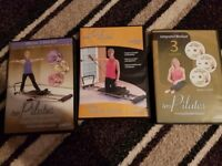 Aero Pilates Machine with stand and dvds