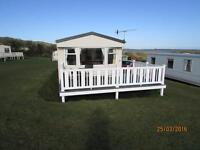 WILLERBY RICHMOND 2006 6 BERTH STATIC ON THE ISLE OF WIGHT 28' X 12' WIDE SEA VIEW.