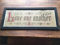 Crostitch Antique Sampler Picture