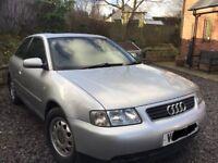 Audi A3 silver V reg 1999