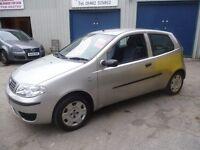 Fiat PUNTO Active 8v,1242 cc 3 door hatchback,full MOT,clean tidy car,runs and drives well