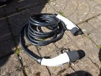 ELECTRIC / HYBRID CAR CHARGING CABLE - FIVE METRE (LISTED TIL SOLD)