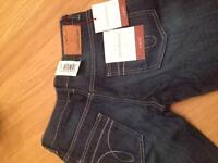 Brad new with tags. Calvin Klein jeans. French connection jumper. Next women's tailored suit.