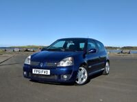 2002 Renault Clio 172 Renaultsport, 2.0, 172bhp, Cup shocks, Cooksport springs, dephaser replaced