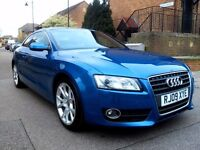 2009 Audi A5 2.0 TDI Sport 6 Speed Manual 2 Door Coupe.Mot 19/01/2018 .Full Service History 1 owner