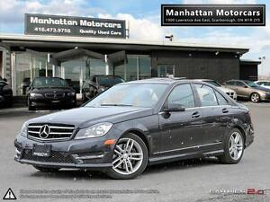 2013 MERCEDES BENZ C300 4MATIC  BLUETOOTH 1OWNER LEATHER SUNROOF