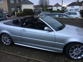BMW 325ci m sport convertible straight 6