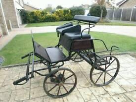 Bellcrown pony cart