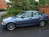 "BMW 318 E46 Saloon SE Year 1999 - 19"" M3 alloys – Very good condition with broken engine"