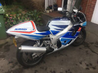 Suzuki GSXR 750 SRAD for sale